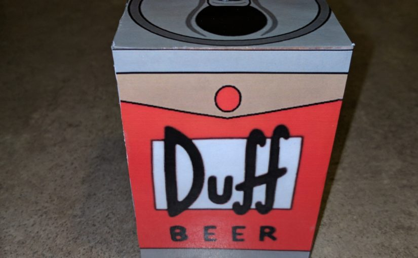 Simpsons Duff Can Episode Shuffler